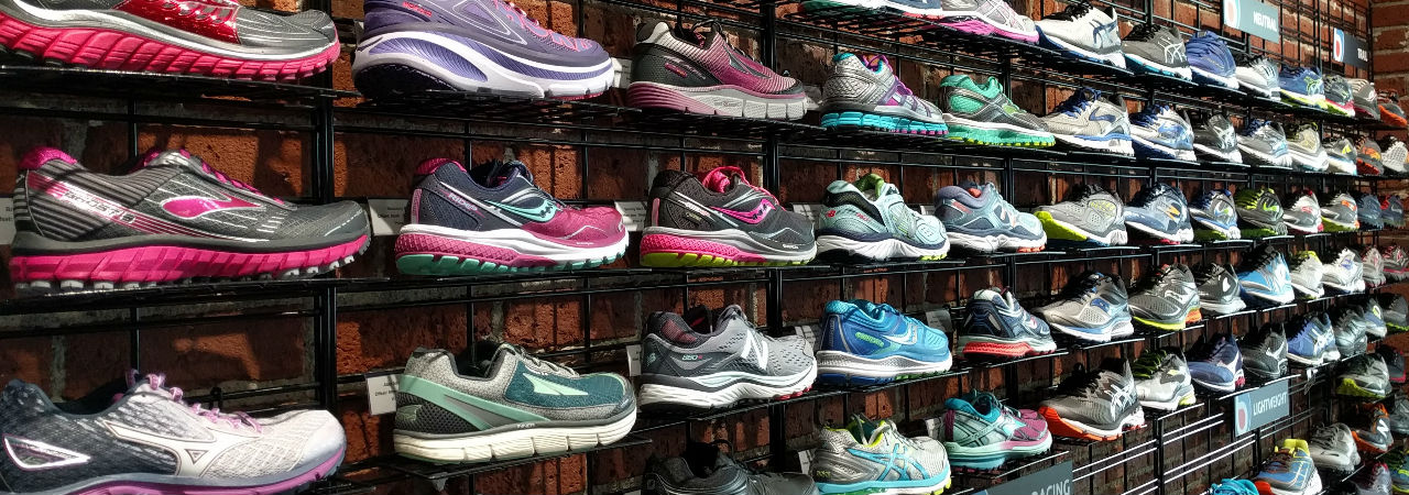 BBay Running Shoe Wall